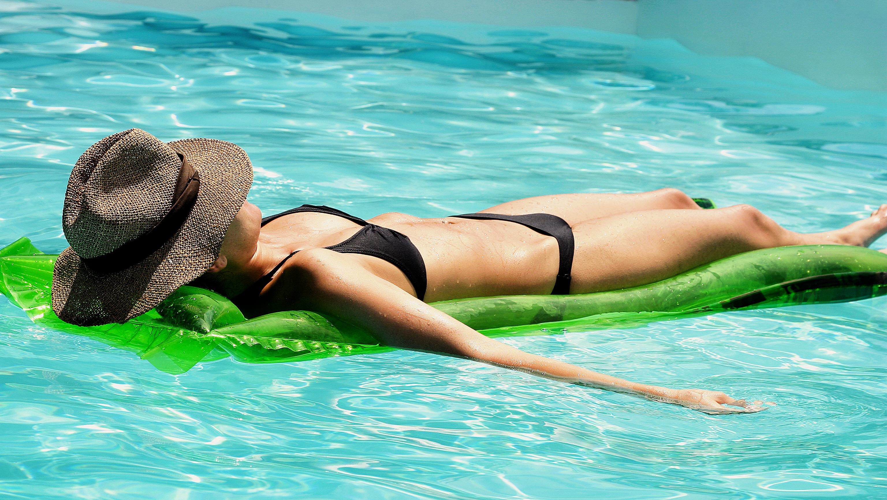 piscina agua salada