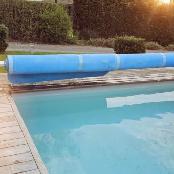mantenimiento de piscinas lona invierno