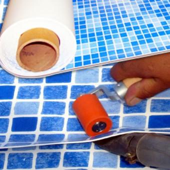 Materiales de revestimiento de la piscina for Construir una pileta de material
