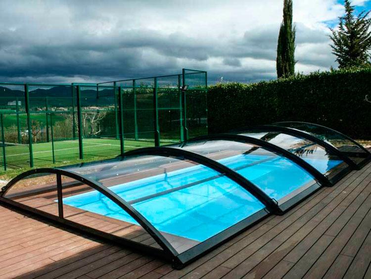 Construcci n reforma y mantenimiento de piscinas for Cubiertas piscina