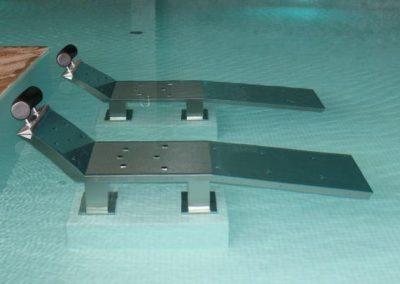 Cama Acero inox para piscinas