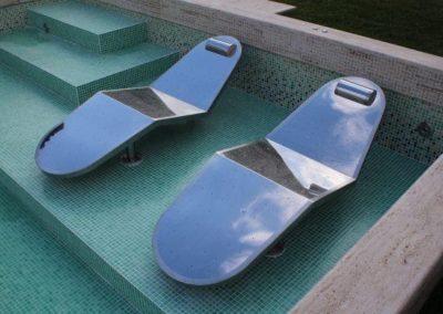 camas para piscinas