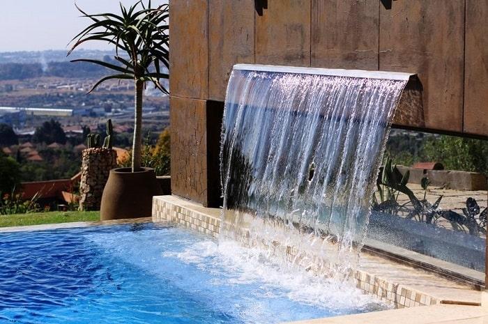 juegos de agua piscina, Cascadas, chorros de agua, parque infantil