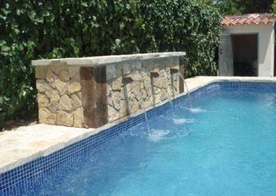 cascadas para tu piscina