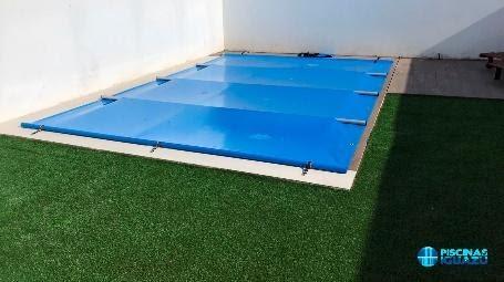 cobertores de barras piscina
