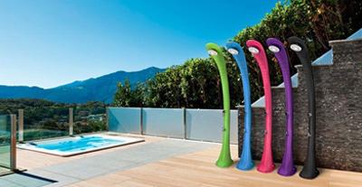 ducha piscina solar