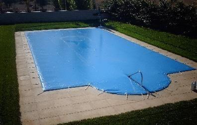 manta solar piscina