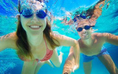 Piscina de comunidades de propietarios sin Covid, piscina segura