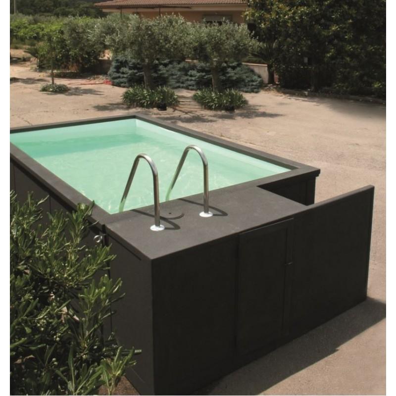 equipamiento piscinas de fibra