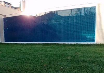 Piscina con Ventana Subacuática 4,50 x2,70 m